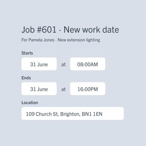 Schedule new jobs